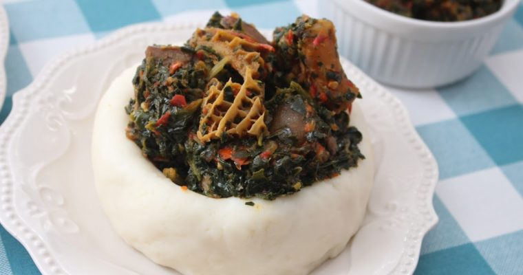 EFO RIRO (spinach or kale soup)