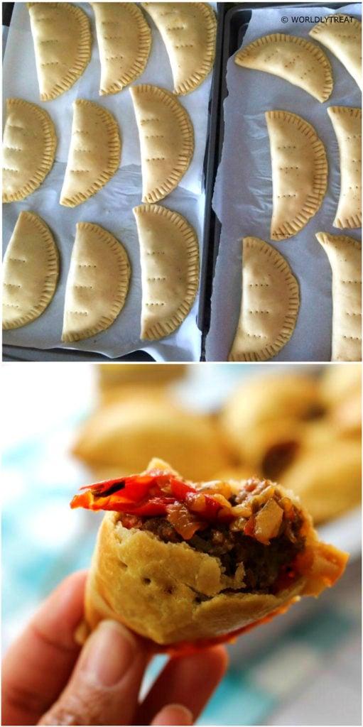 Buttery Nigerian Meat Pie Recipe