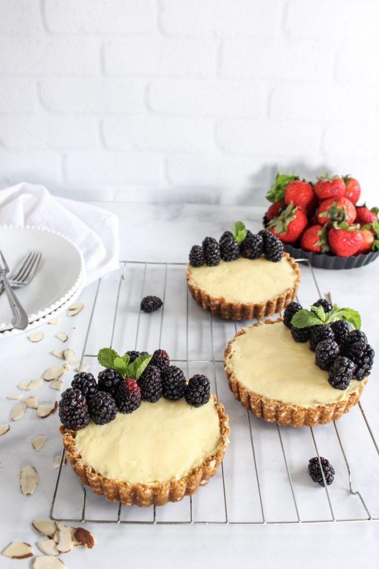 berrylicious no-bake lemon cheesecake