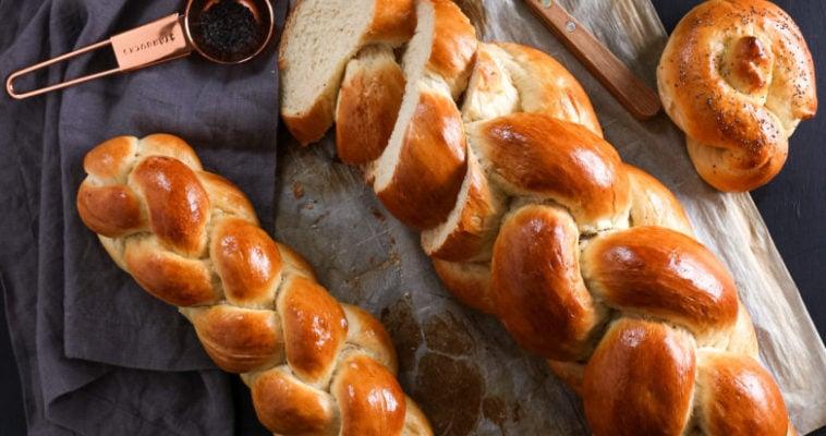 Easy Zopf Bread (not Challah)