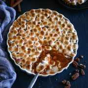 Brown Butter Sweet potato casserole with marshmallow-05