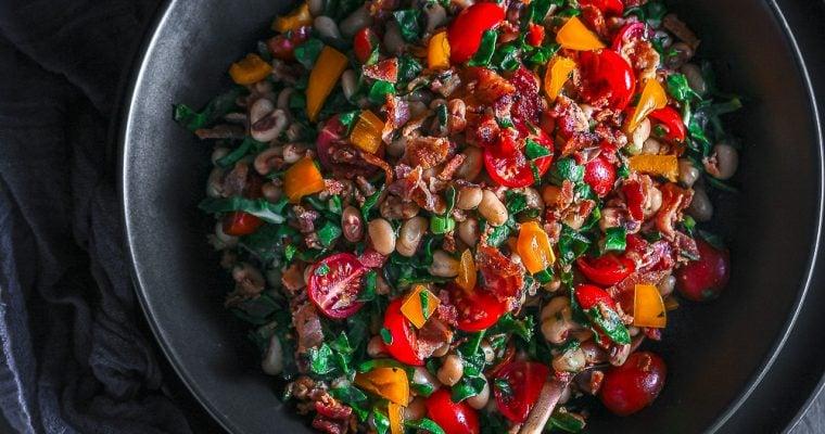 Black-eyed Beans Salad